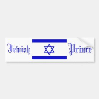 Jewish Prince, Bumper Sticker