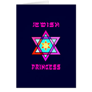 Jewish Princess Card