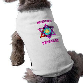 Jewish Princess Sleeveless Dog Shirt