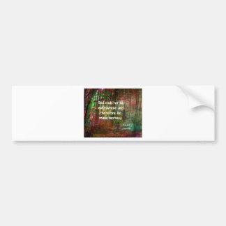 Jewish proverb bumper sticker