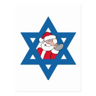 JEWISH SANTA POST CARDS