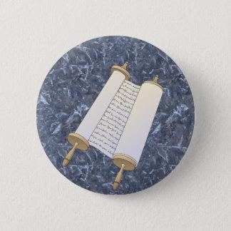 Jewish Scroll 6 Cm Round Badge