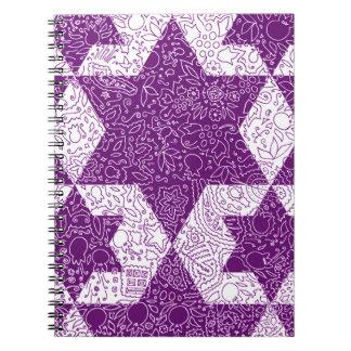 Jewish Signs Style Designed in Jerusalem Notebooks