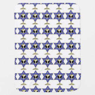 Jewish Star Receiving Blankets