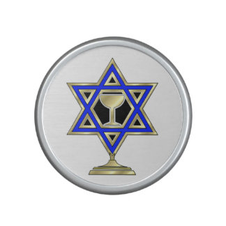 Jewish Star Bluetooth Speaker