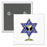 Jewish Star Button
