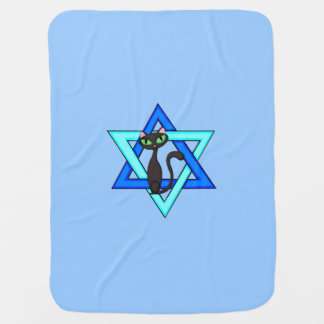 Jewish Star Cats Buggy Blankets