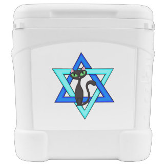 Jewish Star Cats Igloo Roller Cooler