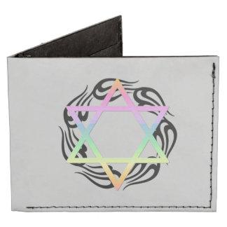 Jewish Star Colors Tyvek Wallet