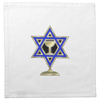 Jewish Star Napkins