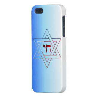 Jewish Star of David and Chai iPhone 5/5S Cover