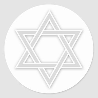 Jewish Star of David Bar/Bat Mitzvah Sticker