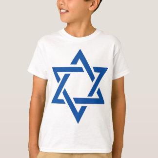 Jewish Star of David Blue T-Shirt