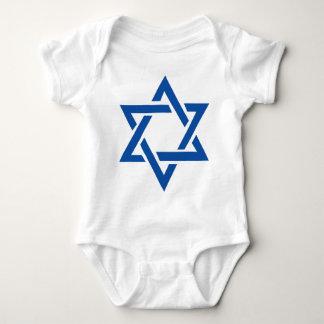 Jewish Star of David Blue Tees