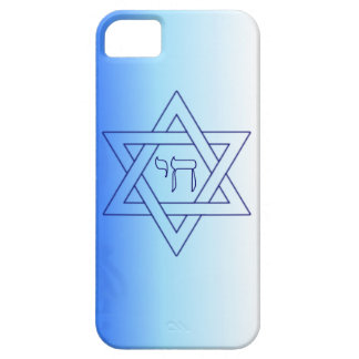 Jewish Star Of David Hebrew Chai Case For The iPhone 5