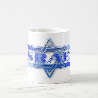 Jewish Star Of David Israel Blue and White Basic White Mug