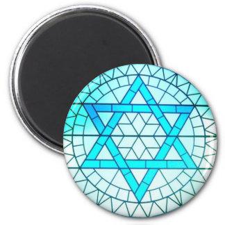 Jewish Star of David Magnet
