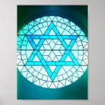 Jewish Star of David Poster Print