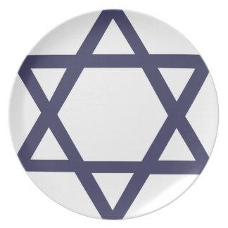 Jewish Symbols Plates | Zazzle.co.uk