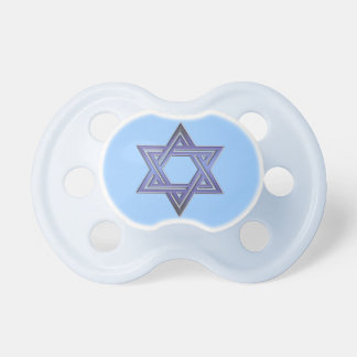 Jewish Star of David Symbol Baby Pacifiers