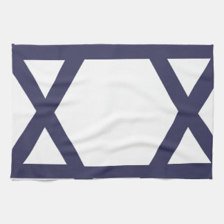Jewish Star of David Tea Towel