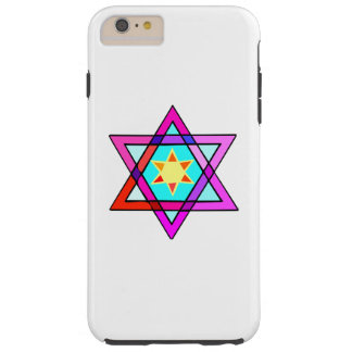 Jewish Star Of David Tough iPhone 6 Plus Case