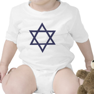 Jewish Star of David Bodysuit