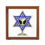 Jewish Star Pencil Holder