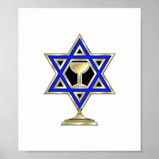 Jewish Star Posters
