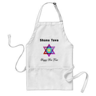 Jewish Star Shana Tova Standard Apron