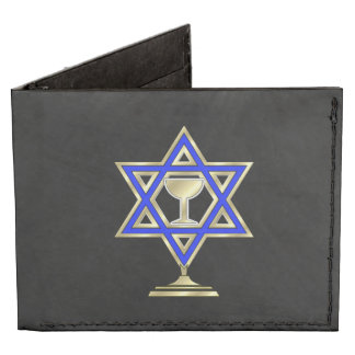 Jewish Star Tyvek® Billfold Wallet