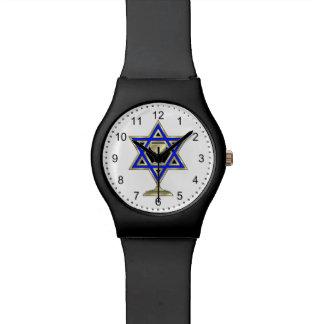Jewish Star Wrist Watch