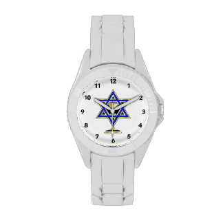 Jewish Star Wristwatches