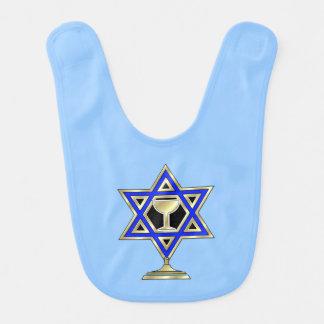Jewish Star Baby Bibs