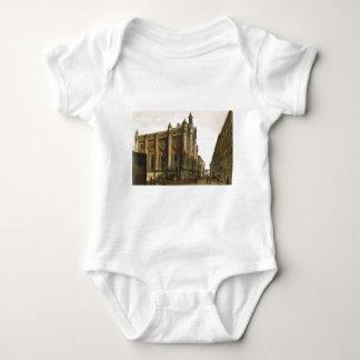 Jewish temple in the city Leopold by Rudolf vonAlt T-shirt