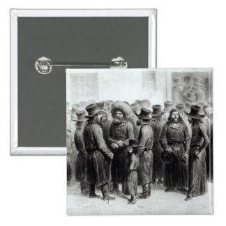Jewish Traders and Merchants 15 Cm Square Badge
