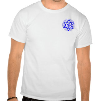 Jewish Unity (small logo) T-shirts