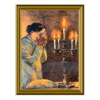 Jewish vintage image postcard