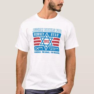 Jewish Voters for Romney-Ryan T-Shirt