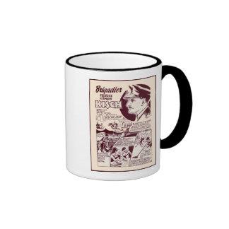 Jewish War Heroes Kisch Ringer Coffee Mug