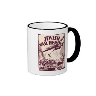 Jewish War Heroes Ringer Coffee Mug