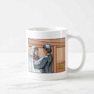 Jewish Wedding Ceremony Basic White Mug