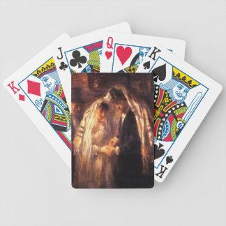 Jewish Wedding Painting by Israëls Poker Deck
