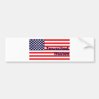 Jewnited States Bumper Sticker