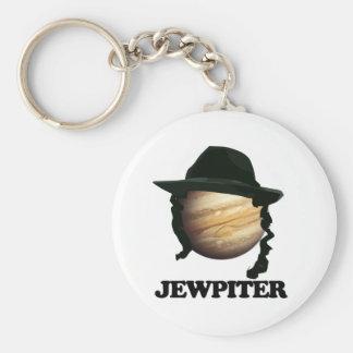 jewpiter basic round button key ring