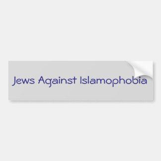 Jews against Islamophobia Bumper Sticker