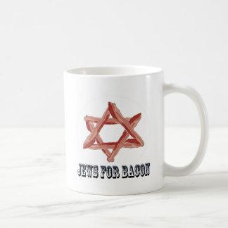 Jews For Bacon Basic White Mug