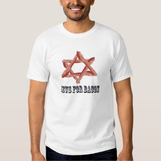 Jews For Bacon Shirts