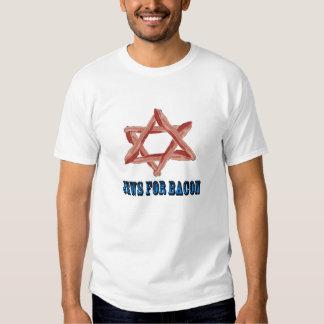 Jews For Bacon Tee Shirt