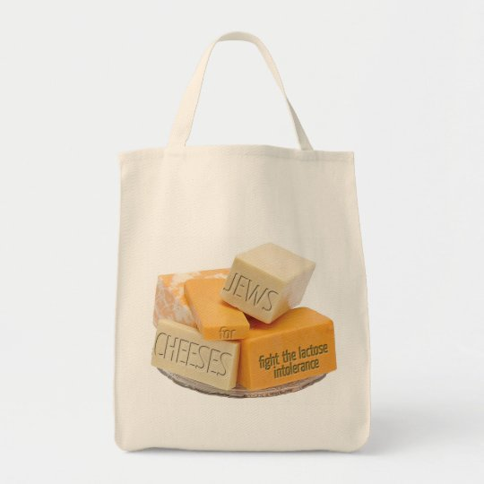 Jews for Cheeses Organic Shopping Tote